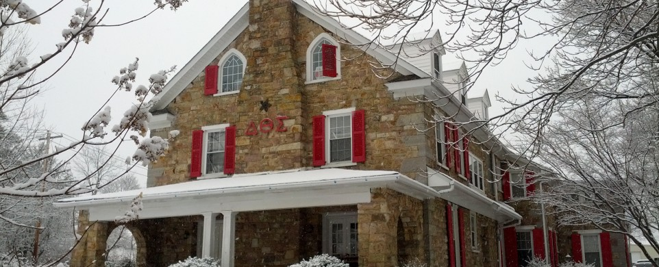 DTS House in Snow